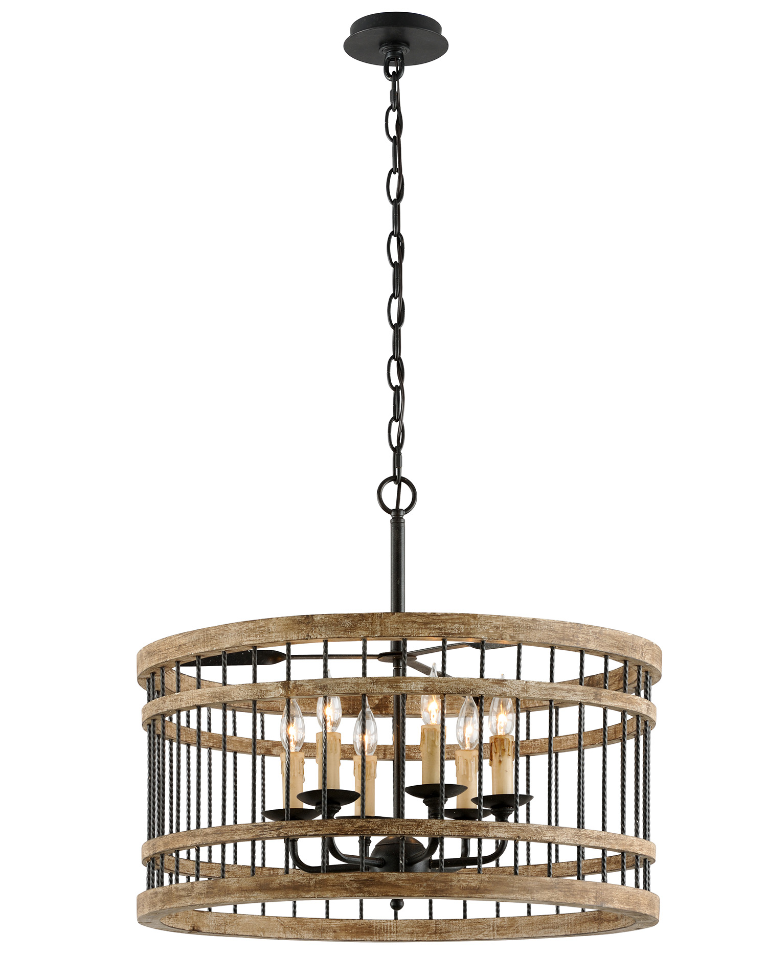 Vineyard is available in four pendant sizes, including dining and a two-light wall sconce.