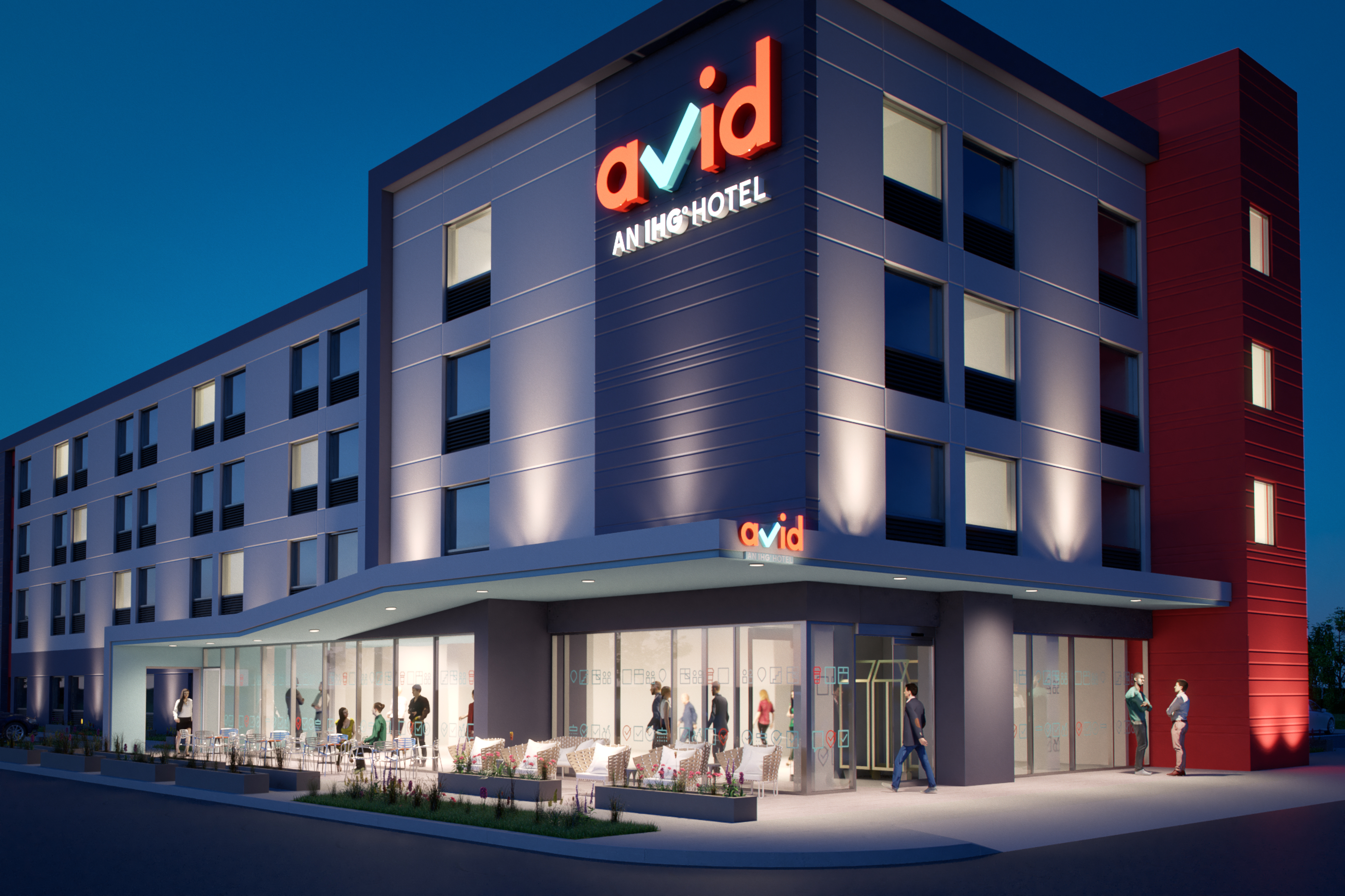 Avid, IHG's new midscale brand, is the latest project created using Agile.