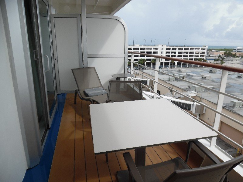 Balcony for the Silver Suite