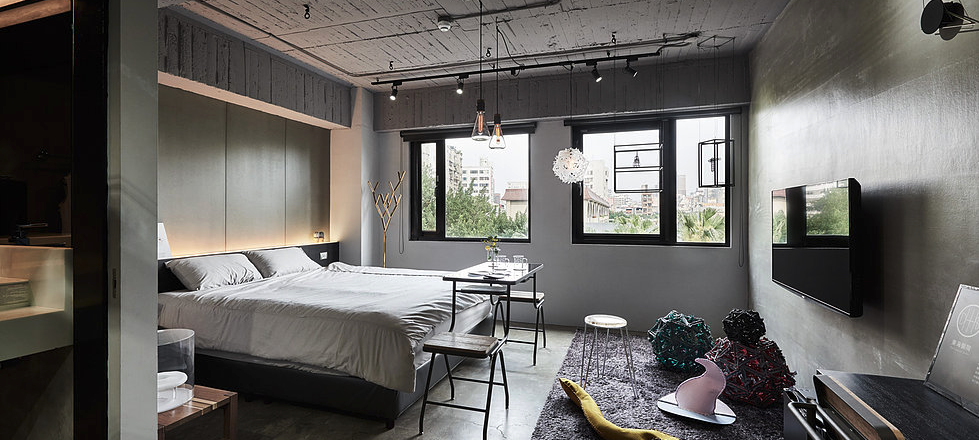 Already open in Taiwan, the Play Design Hotel connects guests with local artists.