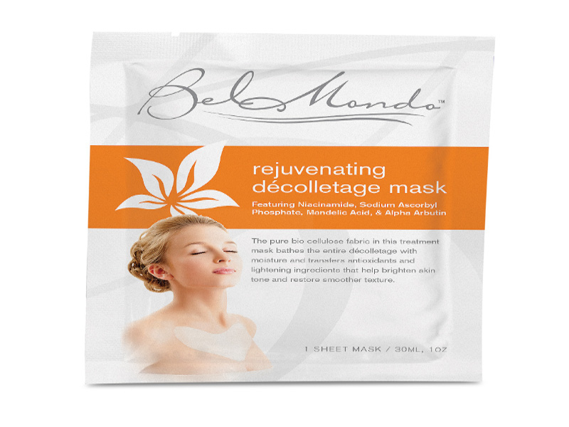 Rejuvenating Décolletage Mask by Bel Mondo Beauty