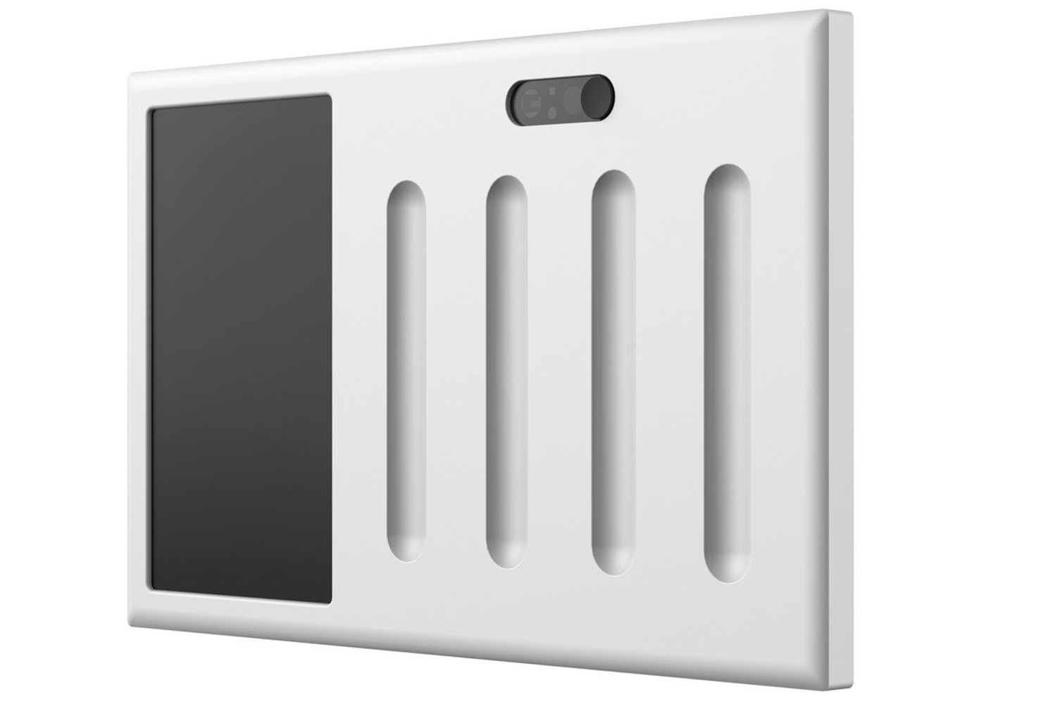 It works with SmartThings or Wink hubs, and is compatible with light switch panels with one to four switches.
