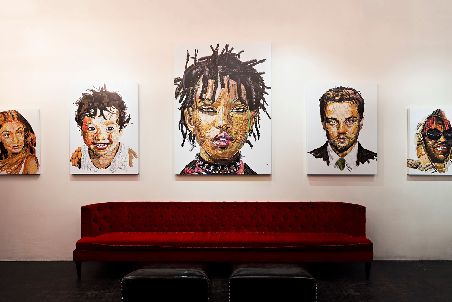 "Dream Downtown is partnering with Los Angeles-based creator Yung Jake and Tripoli Gallery to exhibit pieces from his ""Emoji Portraits"" collection."