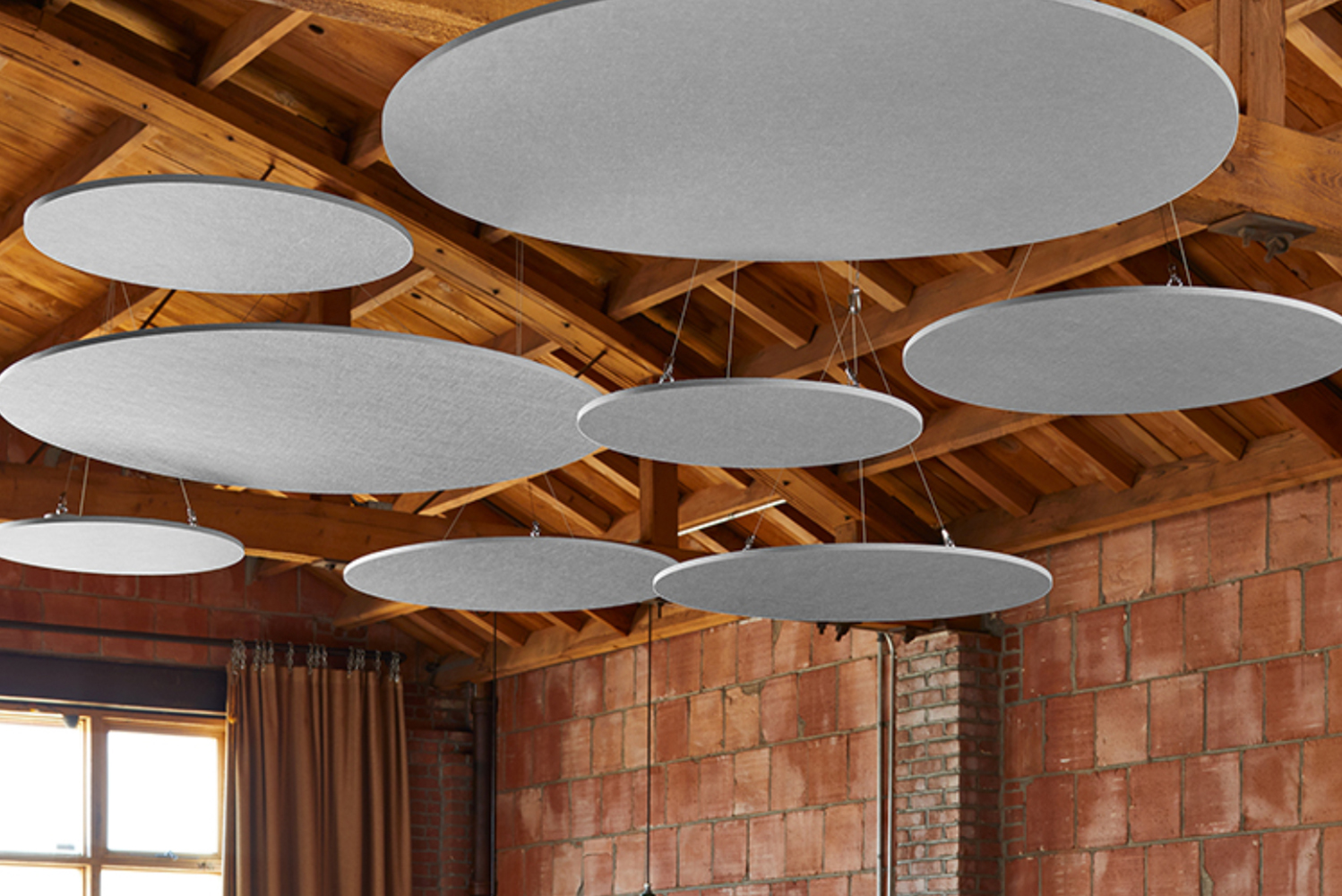 Introducing EchoCloud, a new acoustic ceiling system from Kirei.