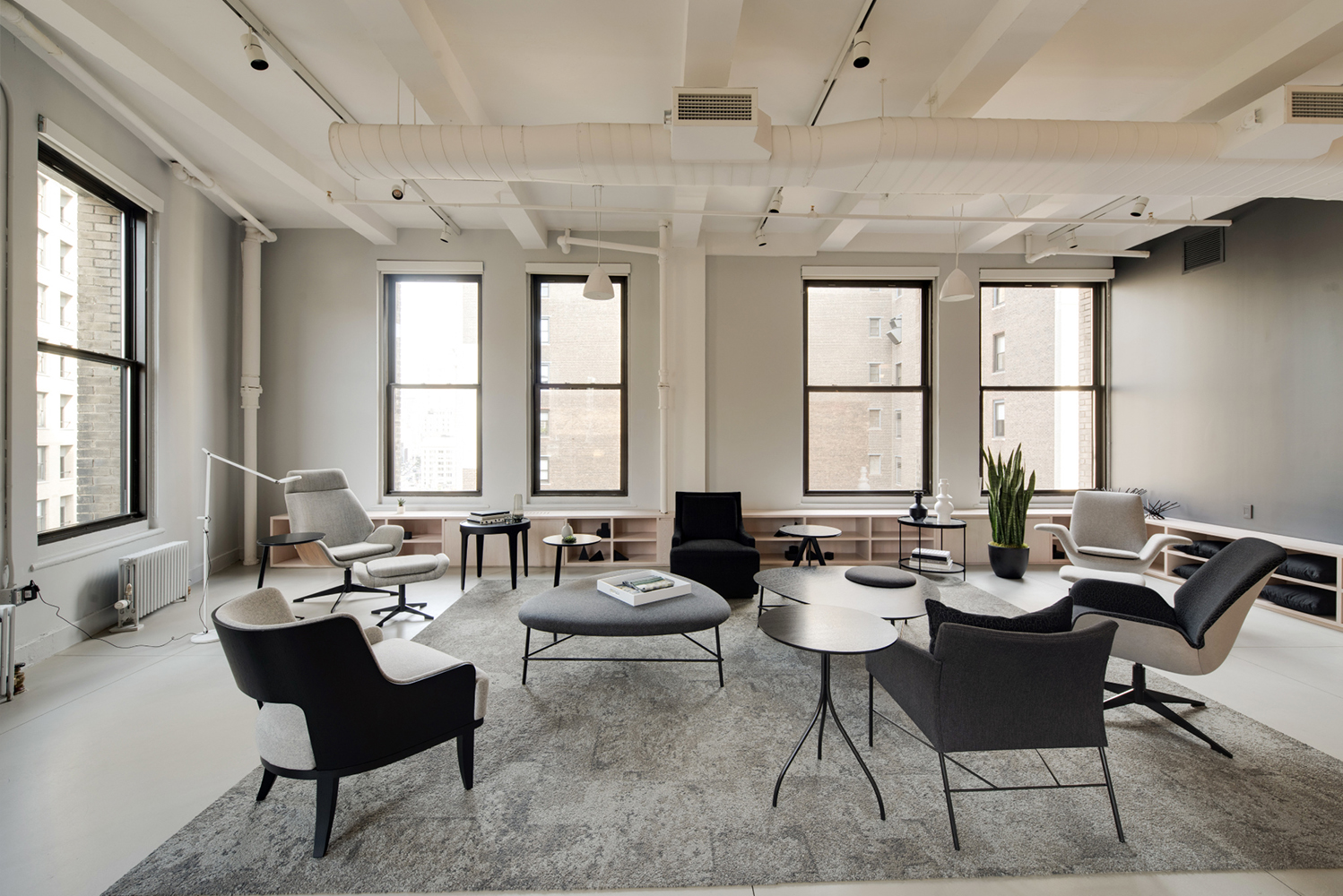 The showroom is located on the 8th Floor of 920 Broadway in New York City.