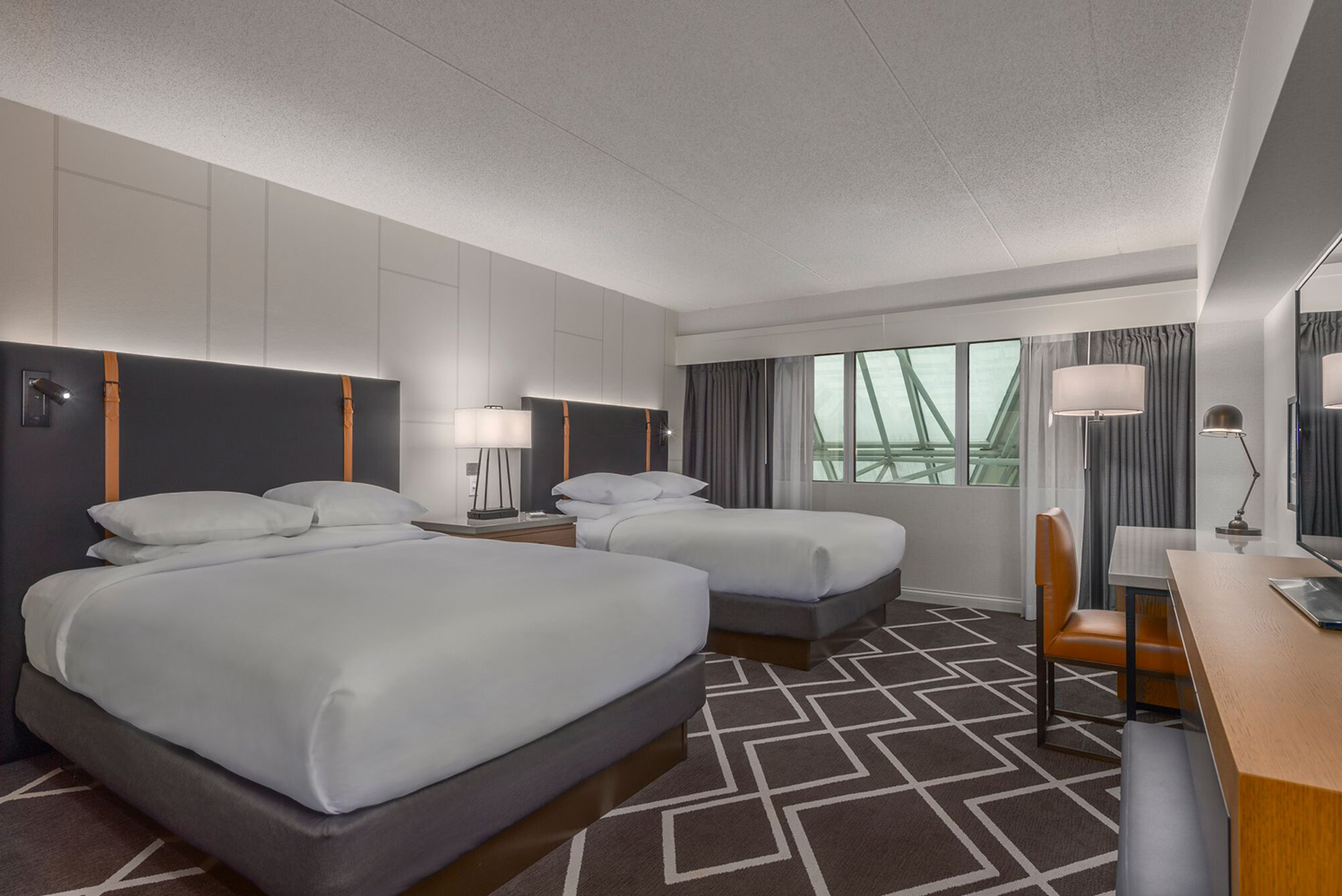 Hilton Boston/Woburn completed a $16 million renovation.