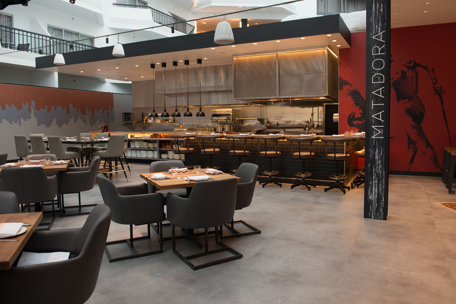 The property also opened Matadora, the hotel's Spanish tapas restaurant.