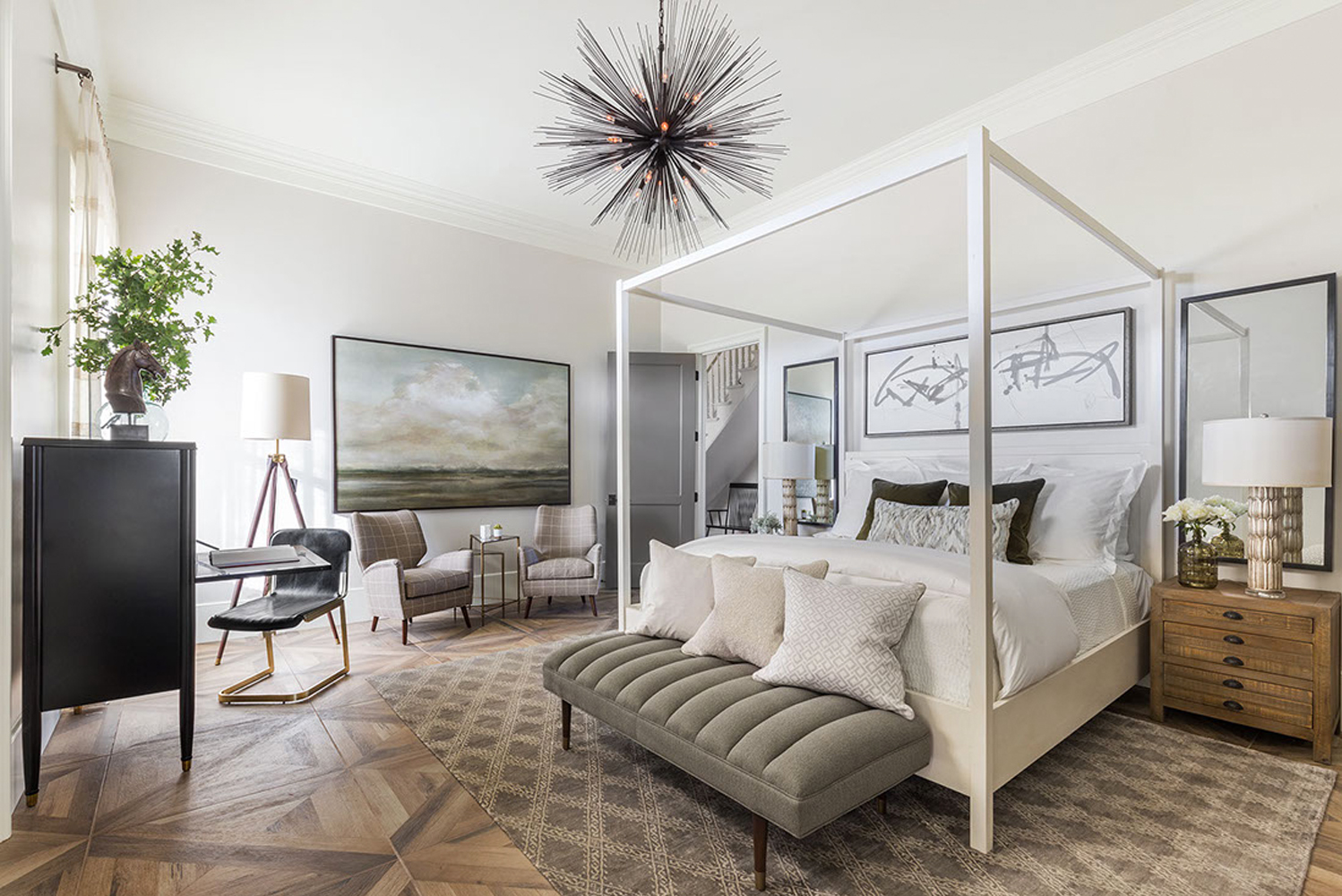 Castellucci Napa Valley soft-opened The Ink House, a four-bedroom boutique luxury inn along St. Helena So Highway, St. Helena, CA.