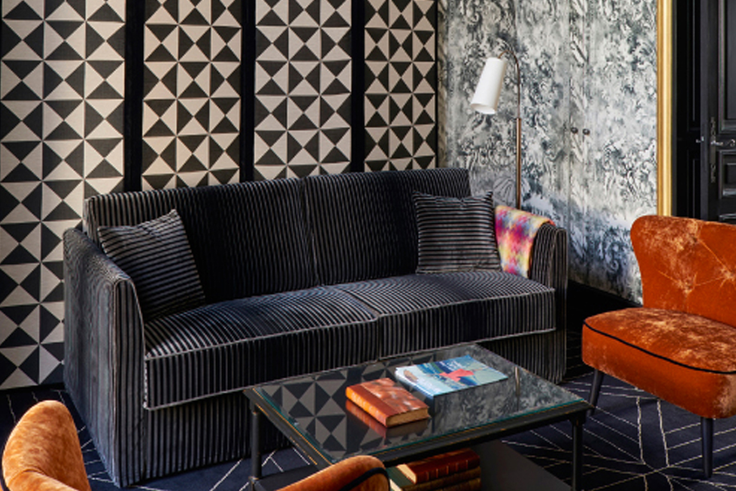 The new suites were designed by interior architect Didier Benderli.