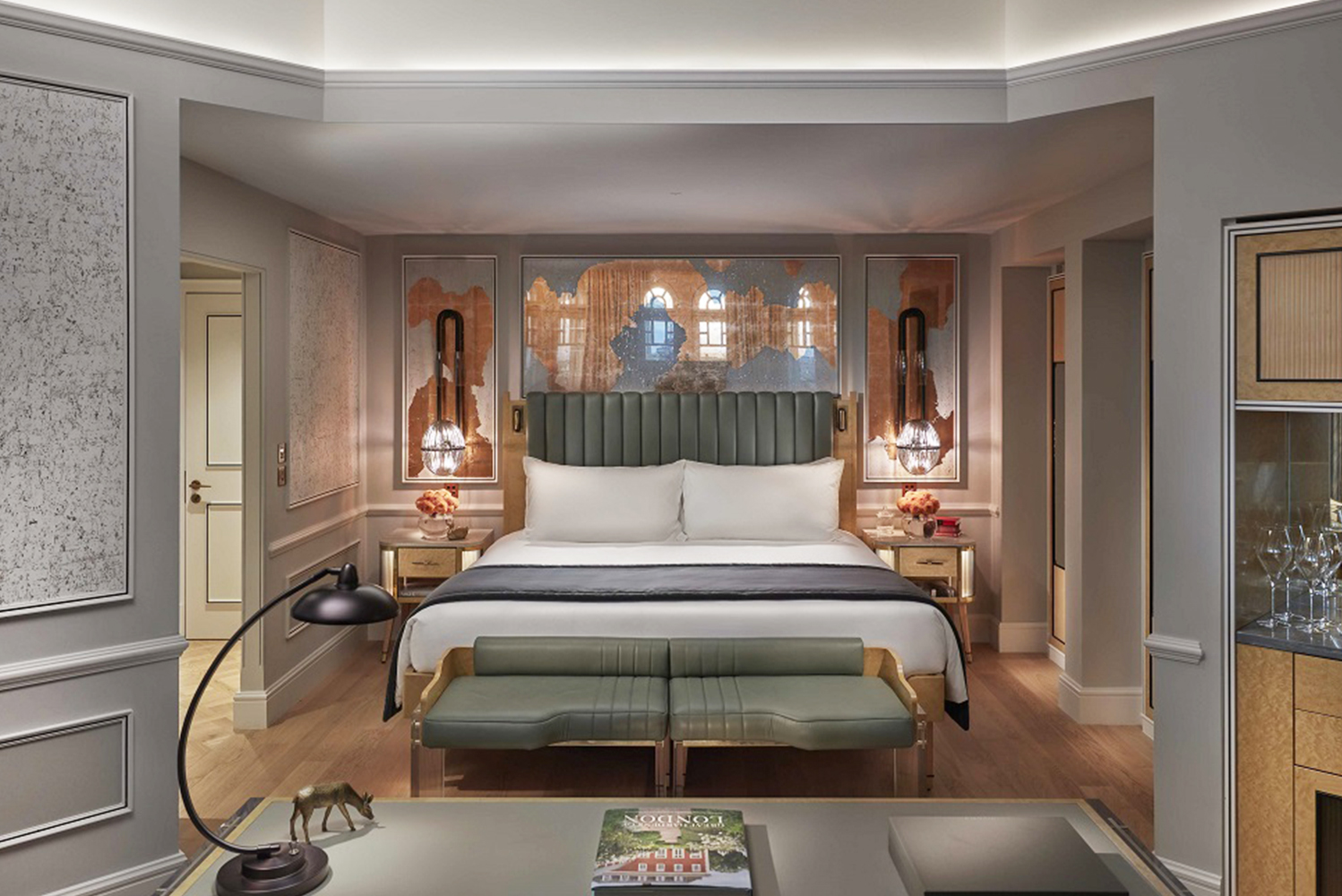 Mandarin Oriental Hyde Park, London is scheduled to complete the second phase of the renovation of the property in the third quarter of 2018.