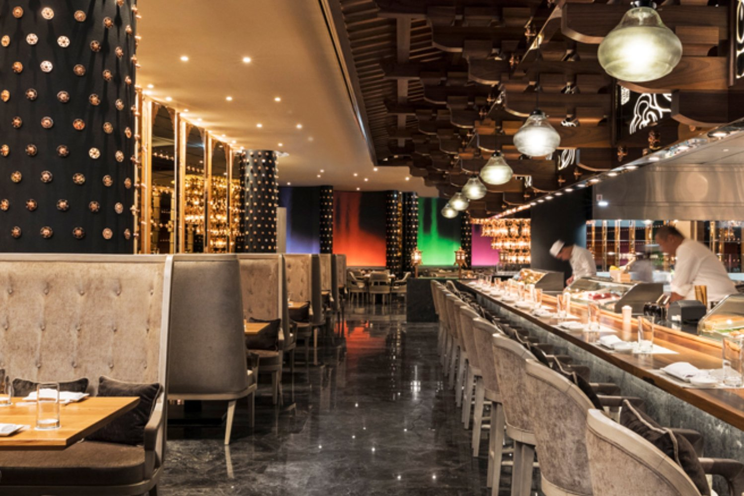 For dining, Mondrian Doha has seven restaurants and bars.