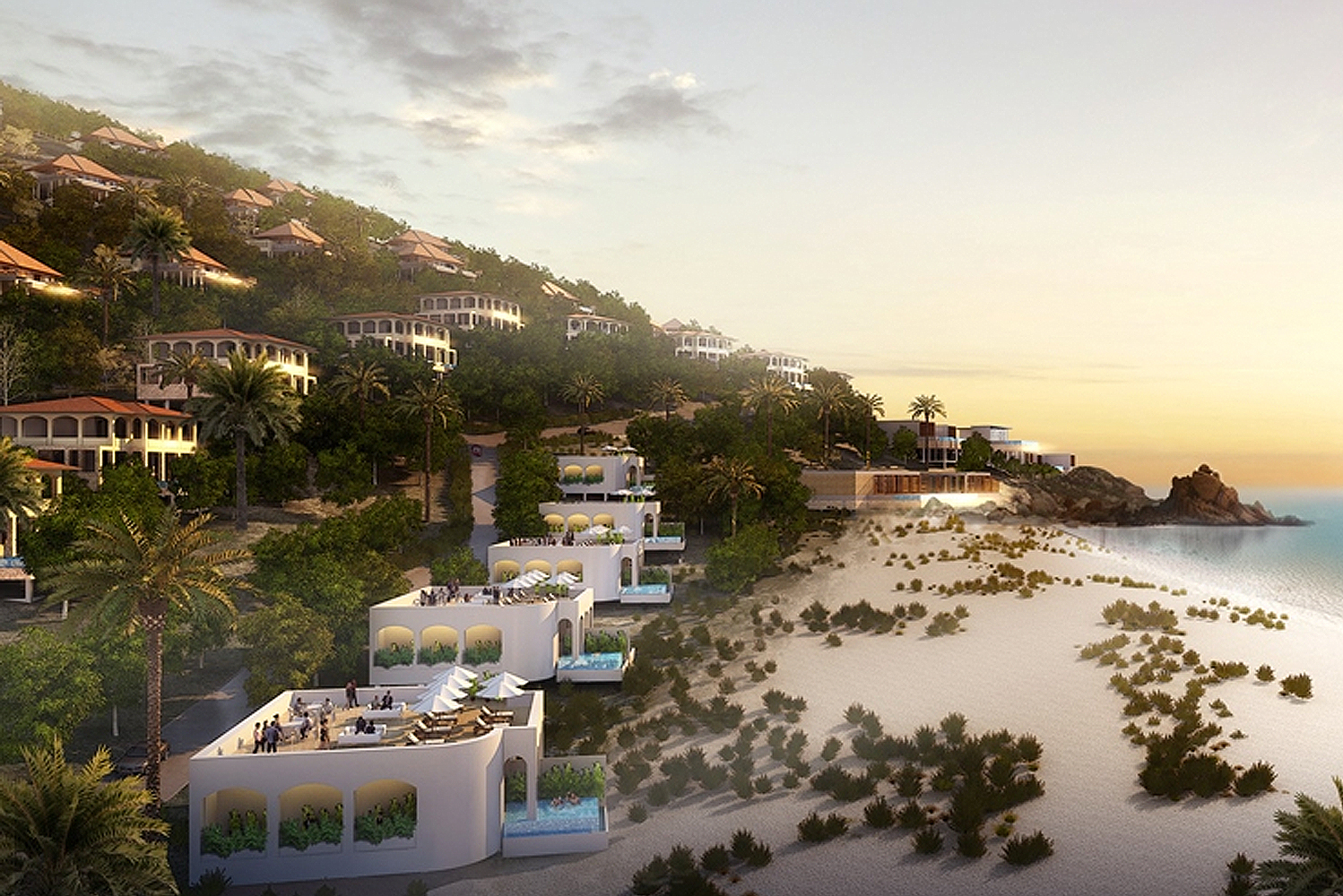 The Mui Dinh eco-resort in Vietnam will have six resort hotels and a boutique hotel that will have a total of 7,000 rooms.