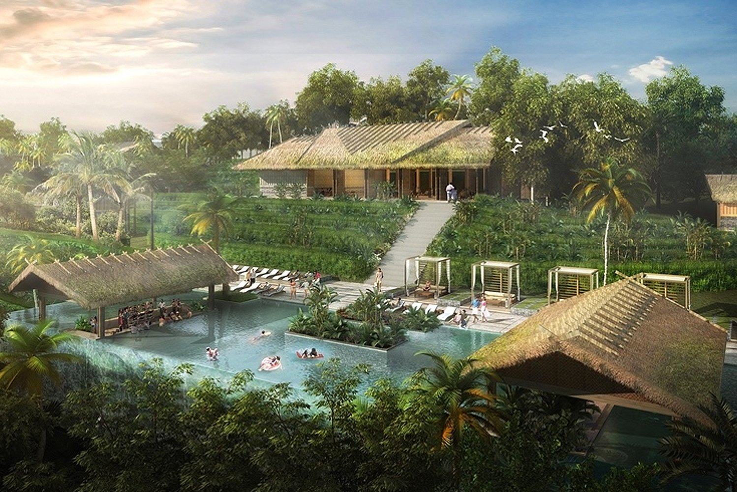 There will be 500 ocean-facing villas.