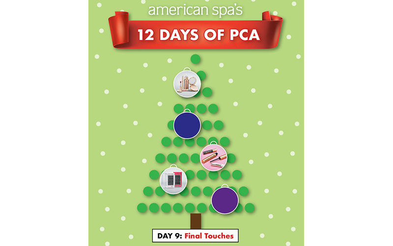 12 Days of PCA Day Nine: Final Touches