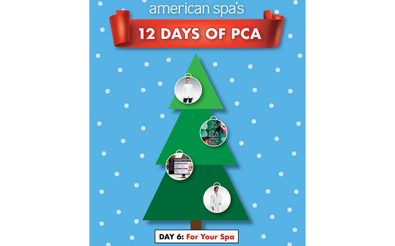 12 Days of PCA Day 6: For Your Spa