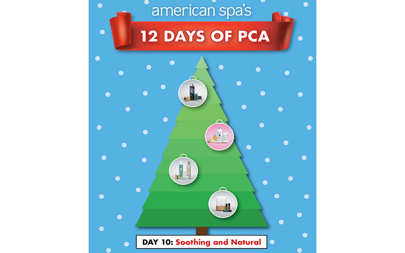 12 Days of PCA Day 10: Soothing and Natural