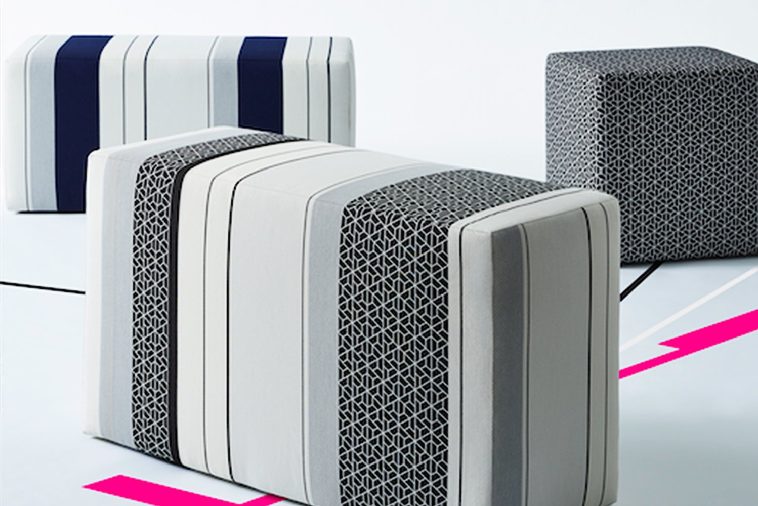 Introducing a new fabric collection marking the first collaboration between Gensler and Carnegie.