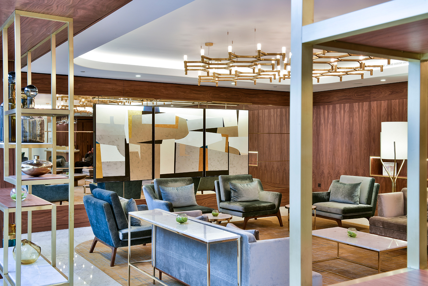 Royal Lancaster London completed its brand new design following an £80 million renovation.
