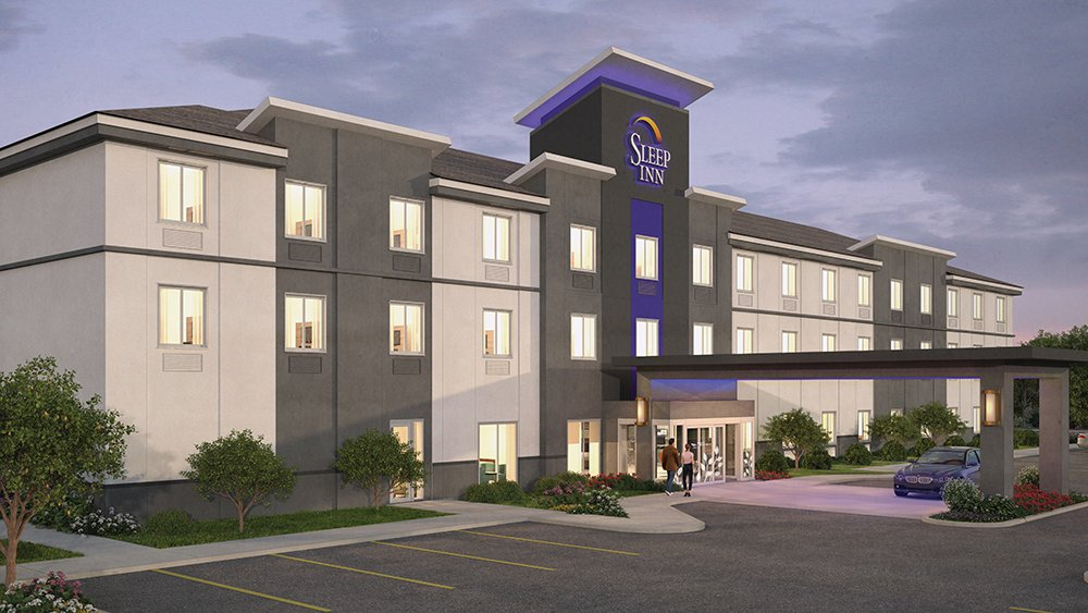 Choice Hotels unveiled its new Sleep Inn prototype in 2016.