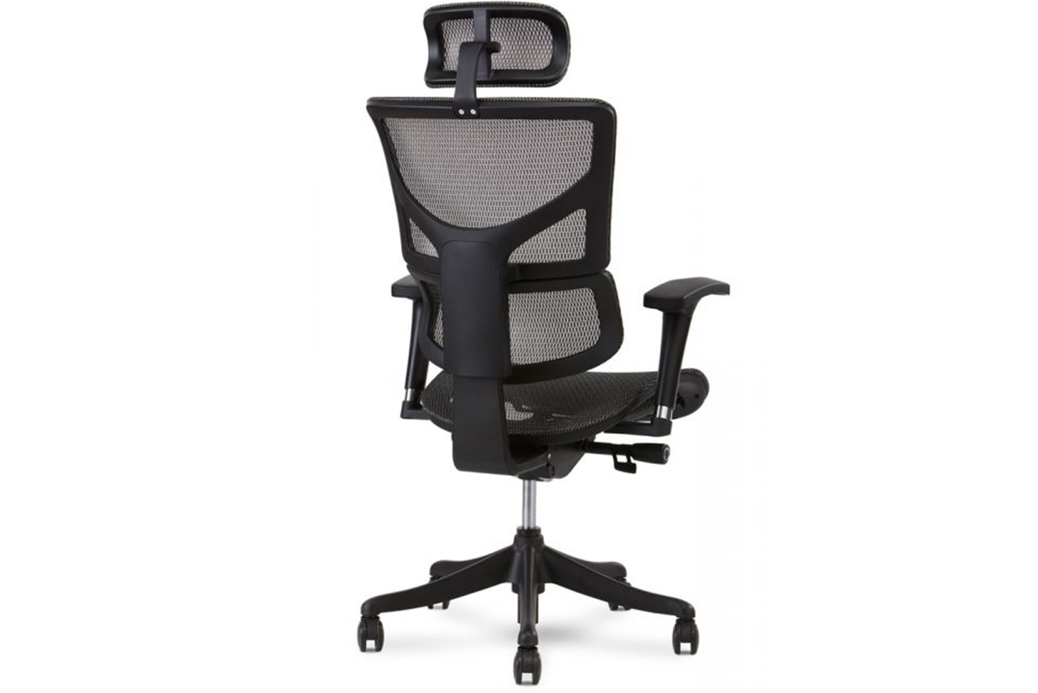 The chair is available in four colors (black, blue, green and gray), and is water, spill and stain resistant.