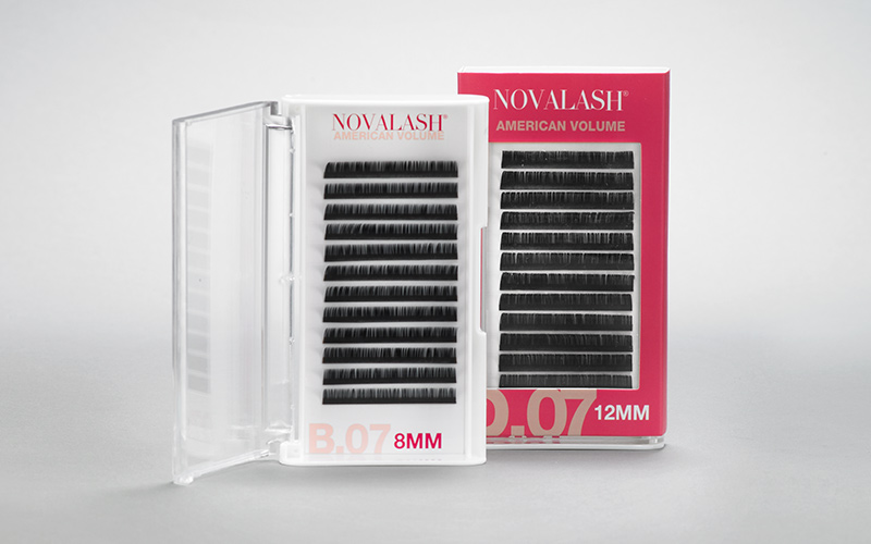 Favorite Eyelash Extension Line: Novalash