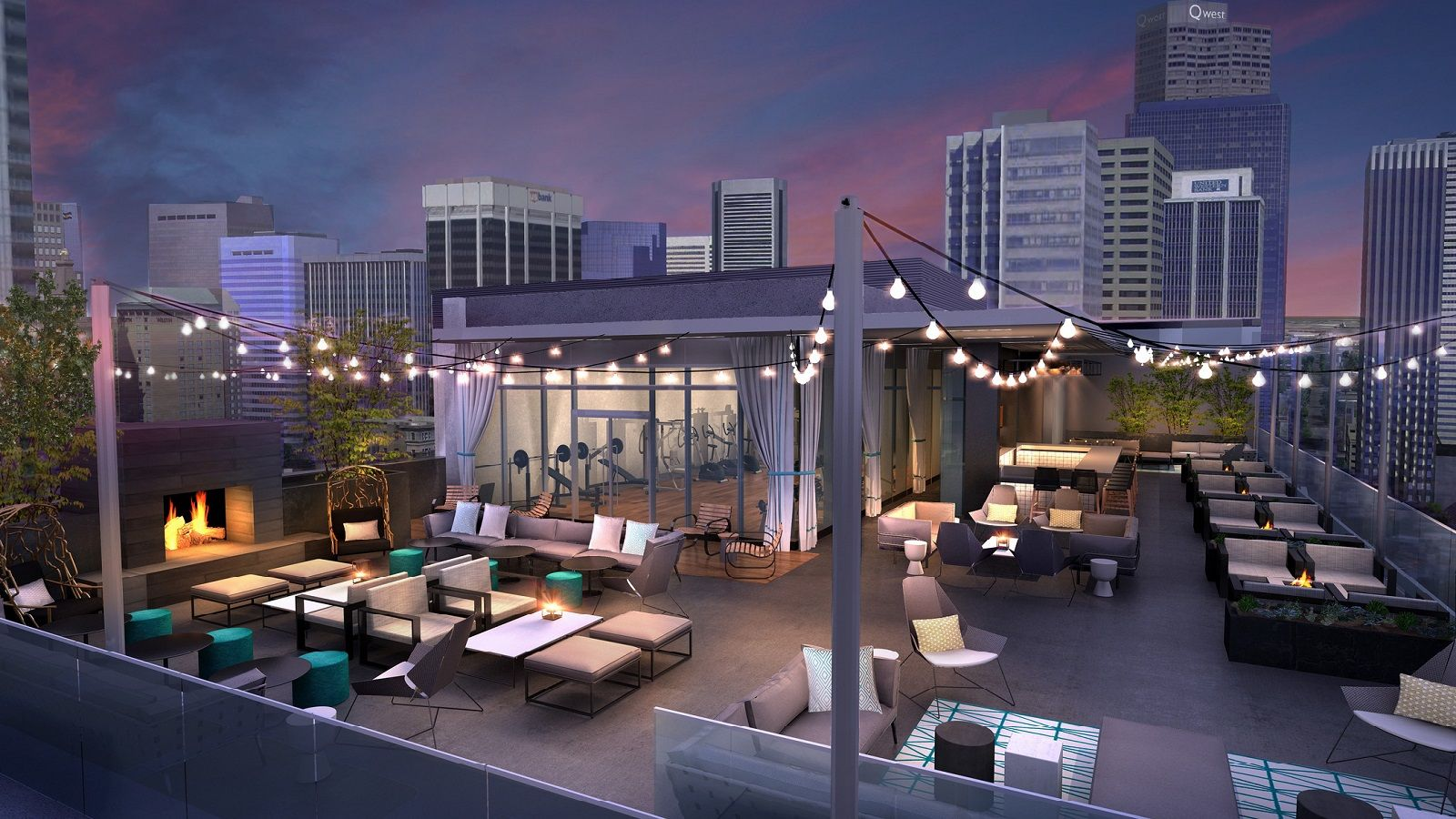 White Lodging's rooftop space at Le Méridien Denver Downtown, 54thirty, is temporarily closed for renovations.