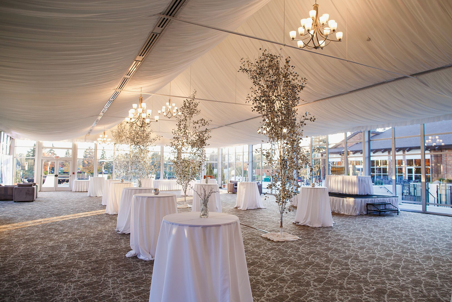 For events, the property now has the new, 5,000 square-foot Lakeside Pavilion, which has views of Lake Lincolnshire.