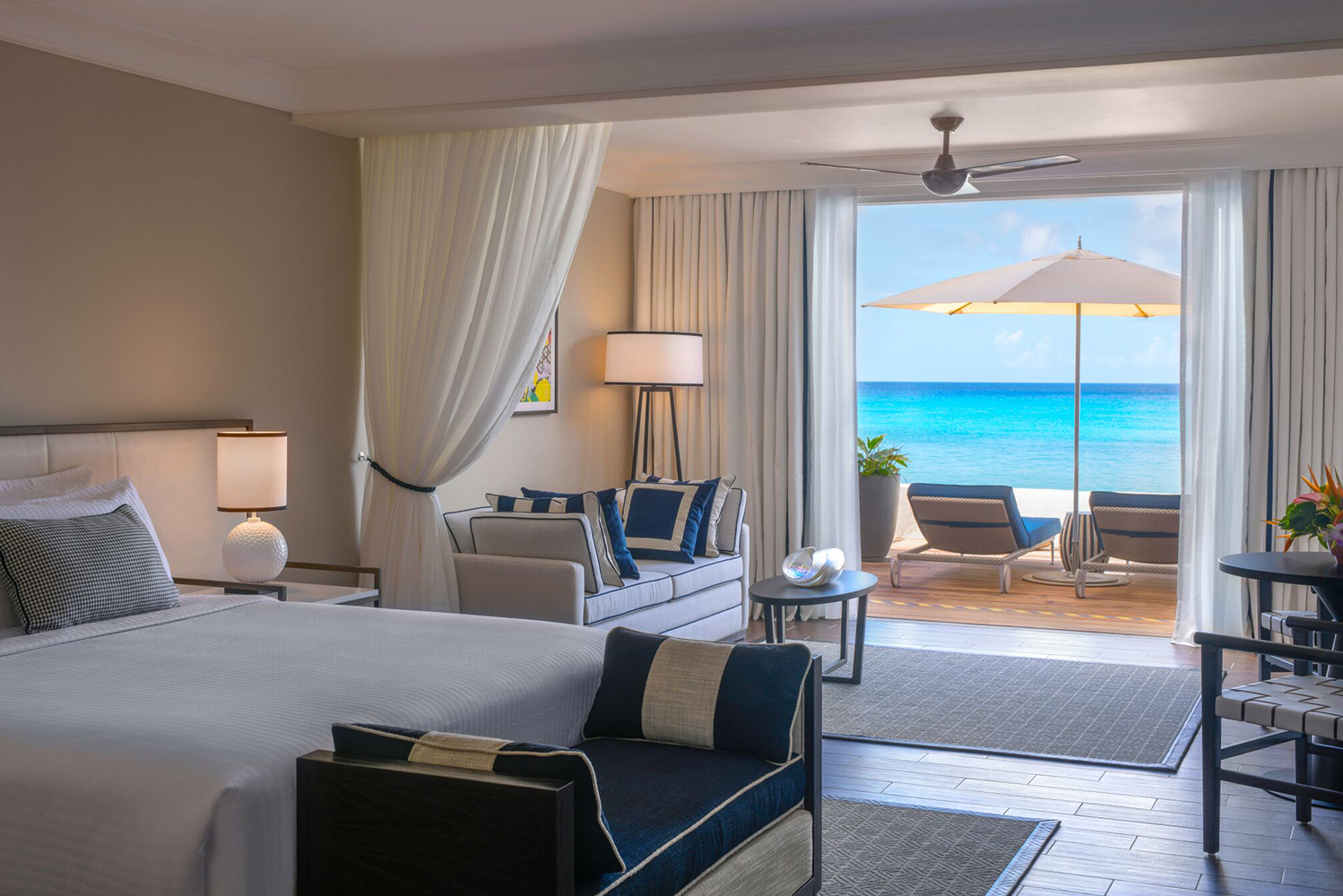 Fairmont Royal Pavilion, Barbados completed a renovation project that saw changes made to the property's hotel lobby, and 72 guestrooms and suites.