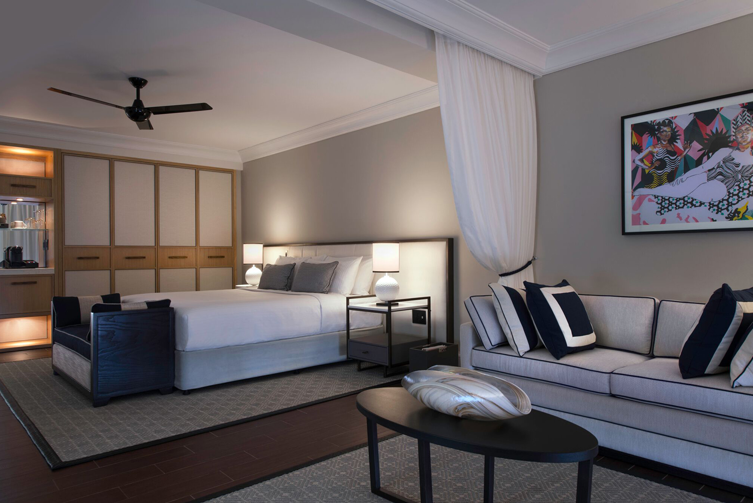 London-based Richmond International led the renovation, drawing inspiration for its new design concept from the resort's location.