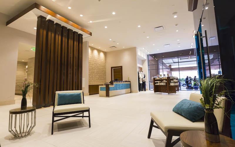 The Lobby of The Spa at Harrah's at Harrah's Resort Southern California