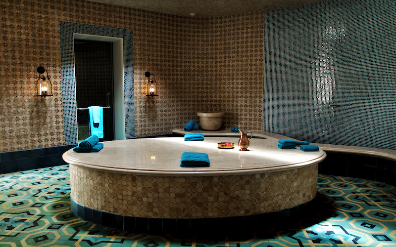 Hammam at Spa Mukul // Photo credit Roberto Valle