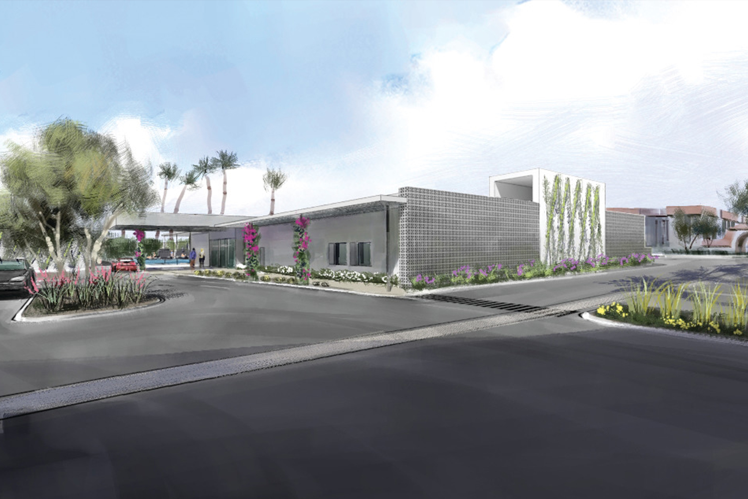 Scottsdale Inn is currently undergoing a $12 million renovation and will debut as Hotel Adeline in early 2018.