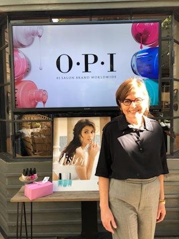 OPI's cofounder and brand ambassador, Suzi Weiss-Fischmann