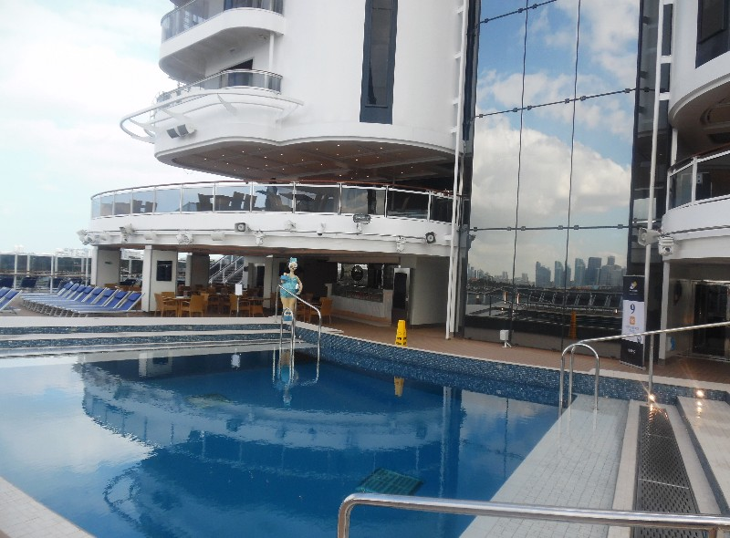 Aft Pool on MSC Seaside