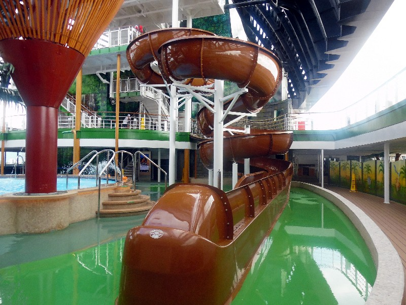 Waterslide on MSC Seaside