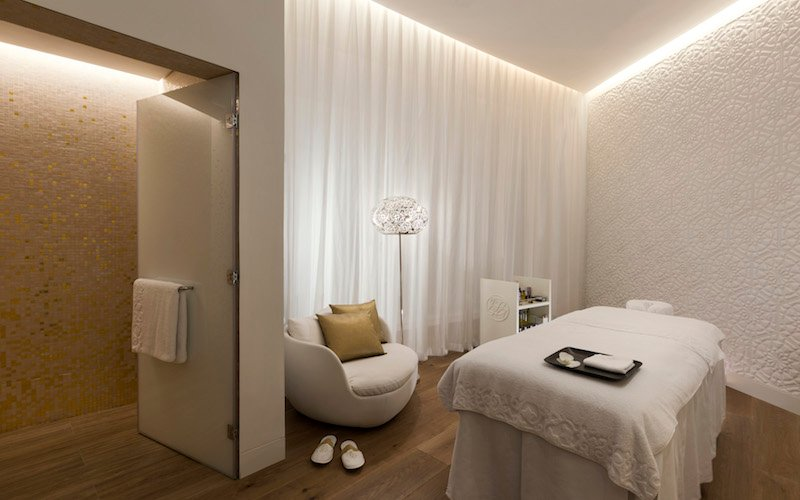The women's spa at the new ESPA at Mondrian Doha.