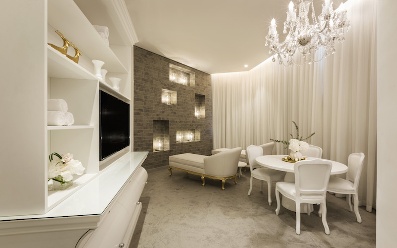 The VIP area at the new ESPA at Mondrian Doha.
