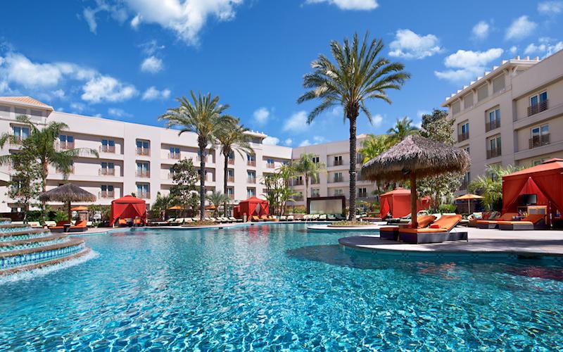The Main Pool at Harrah's Resort Southern California
