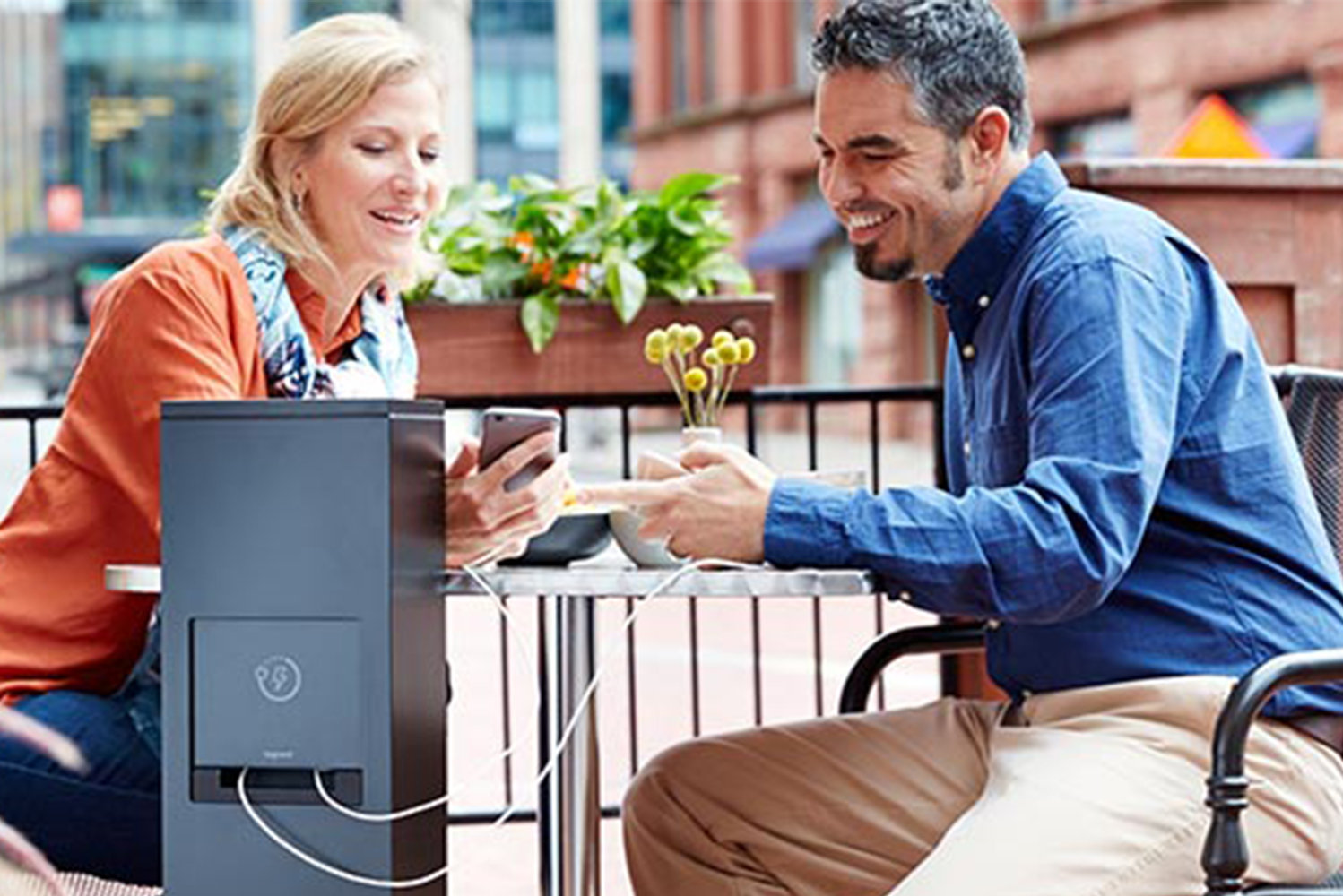 Legrand launched outdoor charging stations.