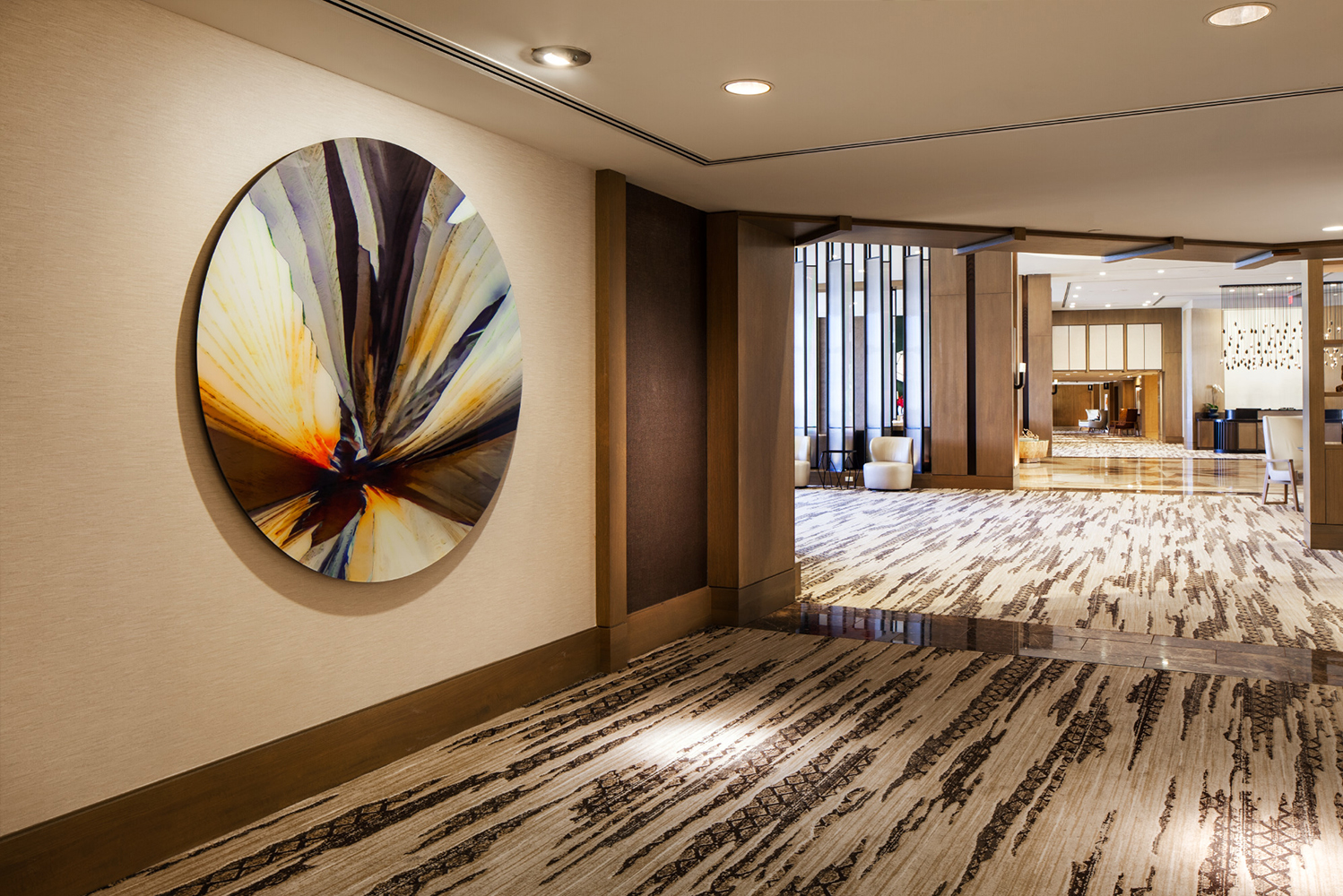 Eaton Fine Art (EFA) completed the art program for the recently-renovated Canyon Suites at The Phoenician.