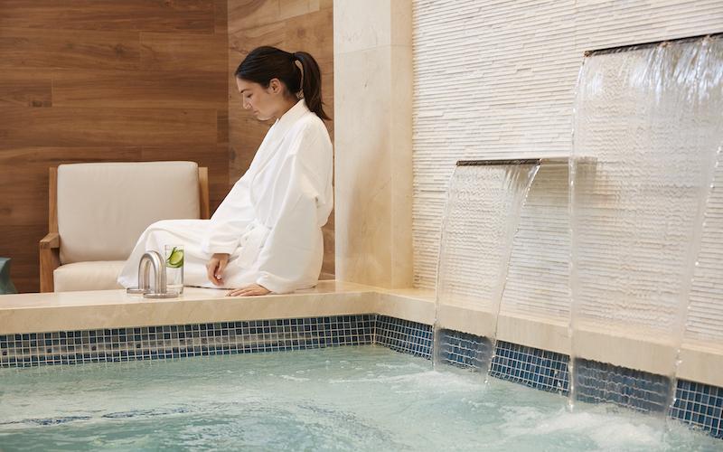 A Salt Bath at The Spa at Harrah's at Harrah's Resort Southern California