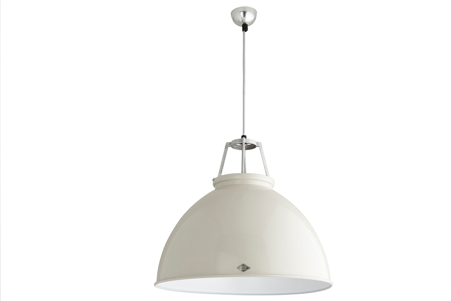 Original BTC launched the Titan pendant, which features a hand-spun metal shade crafted in the company's metal workshop in central England.