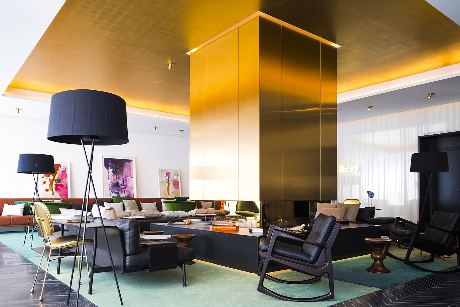 Located in the city's Westend, the hotel was created by the Gekko Group and Amsterdam design company, concrete.