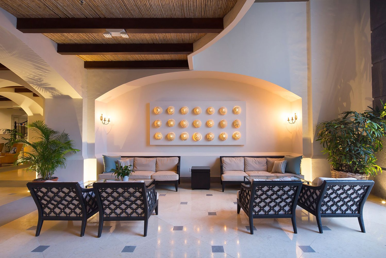 The Buenaventura was built around a 100-year-old Corotu tree, incorporating Panamanian elements into its design.