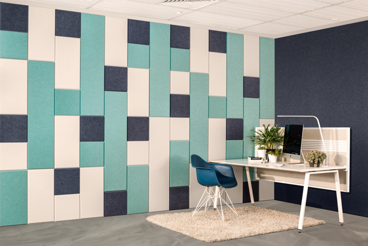 Easy installation: EchoPanel Balance tiles by Woven Image for Kirei ...