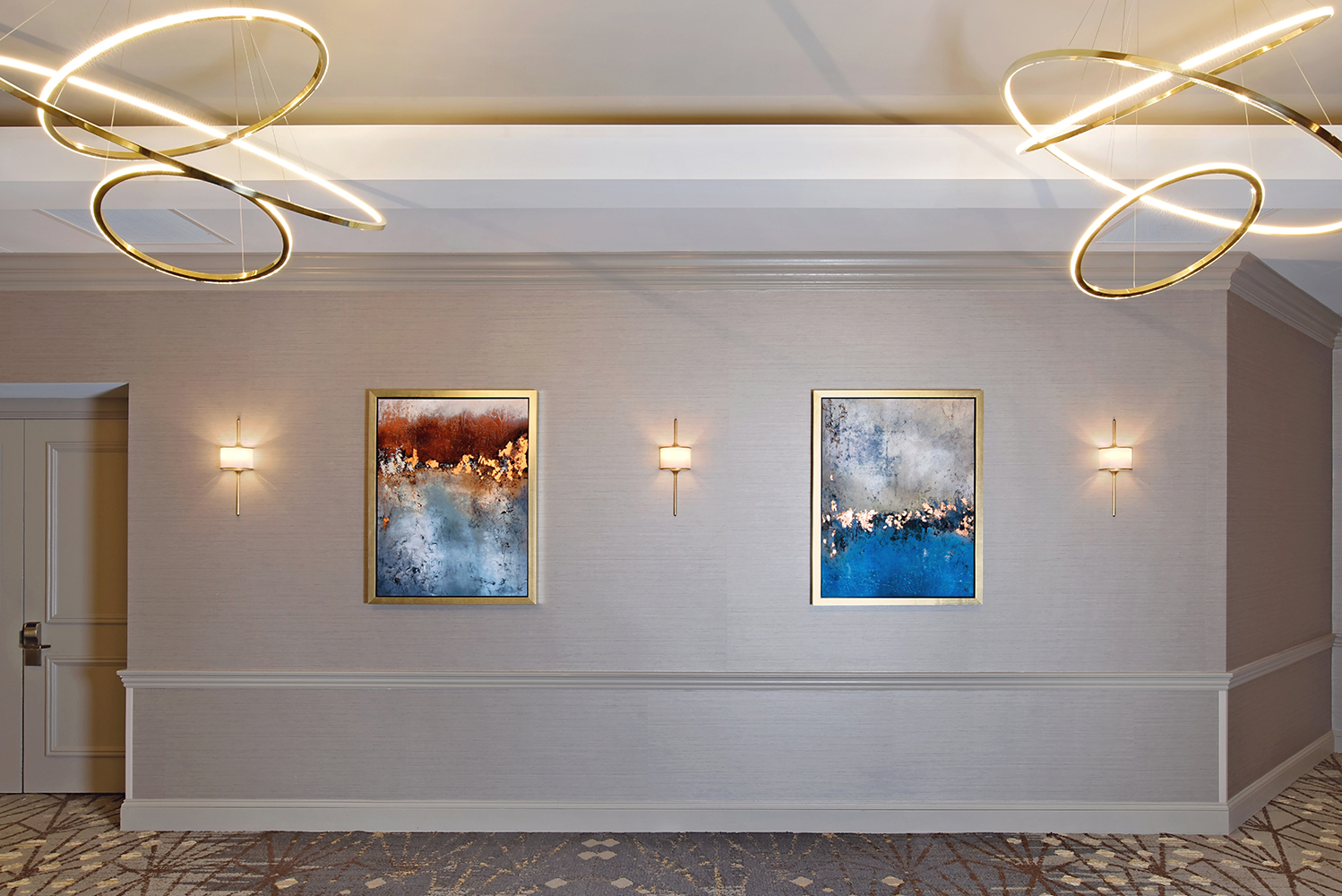 Illuminate Lighting Consultants enhanced the space with accent lighting.