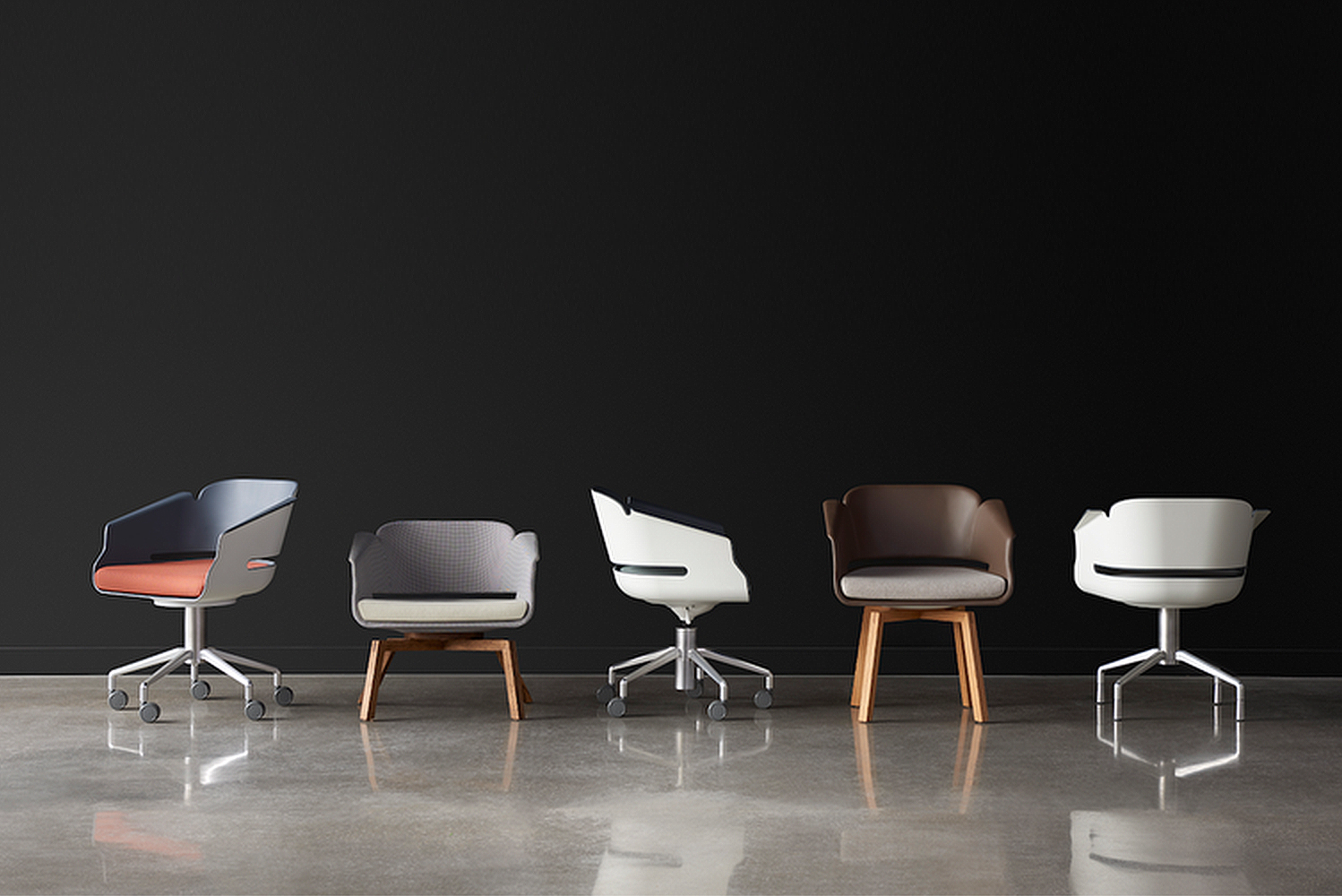 Allseating launched the Lyss chair.