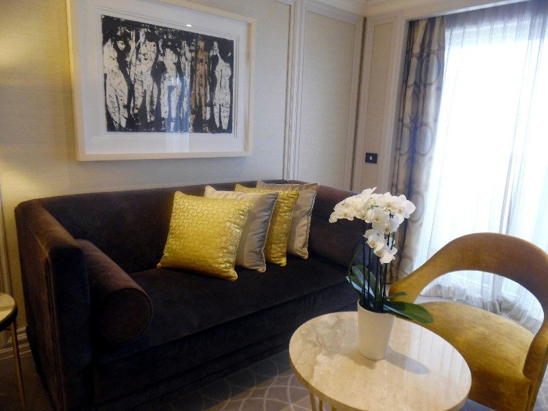 Second Bedroom: This comfortable private sitting area awaits guests.