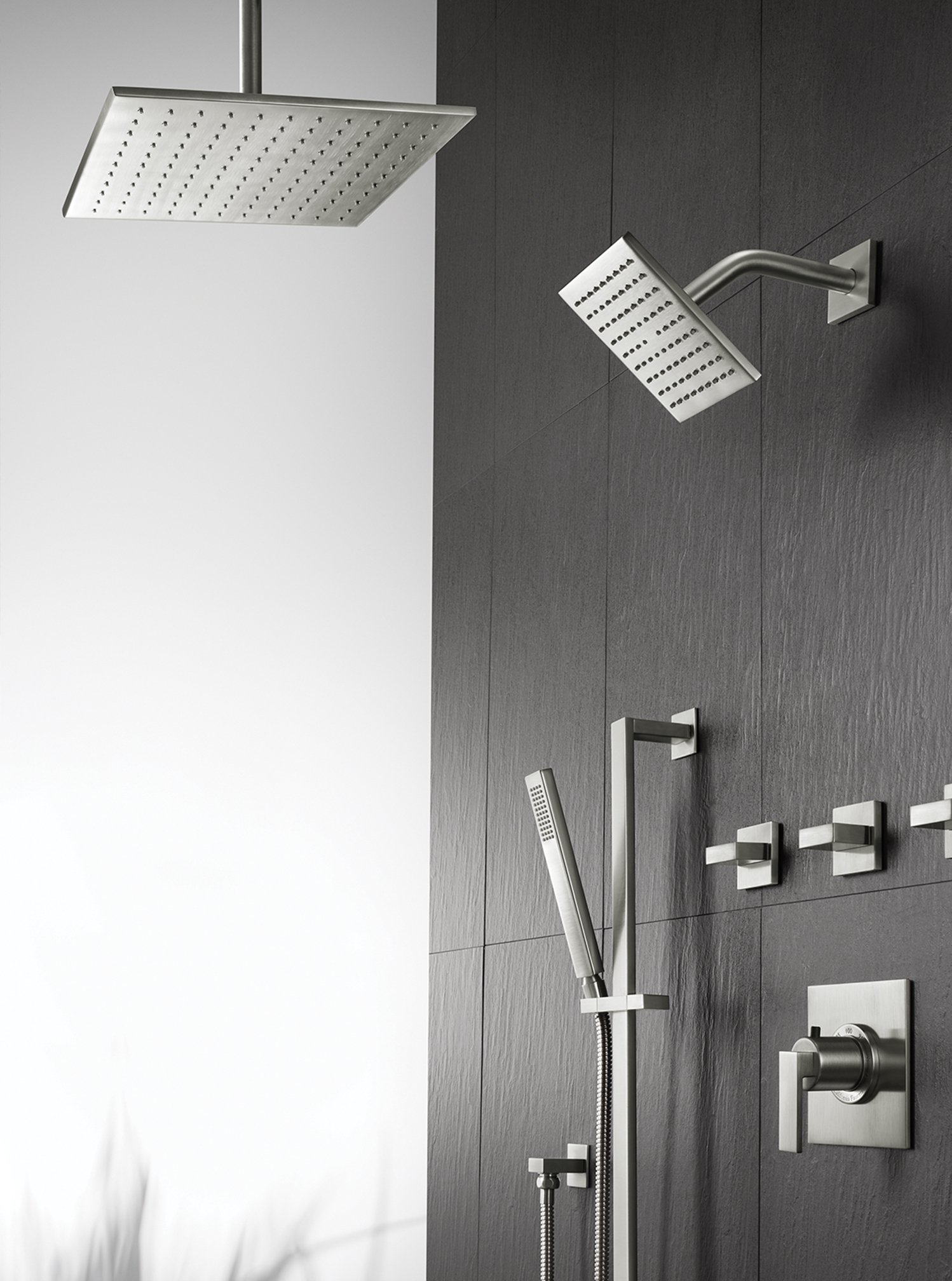 California Faucets, manufacturer of bath and kitchen fittings, launched a line of ultra-thin showerheads.