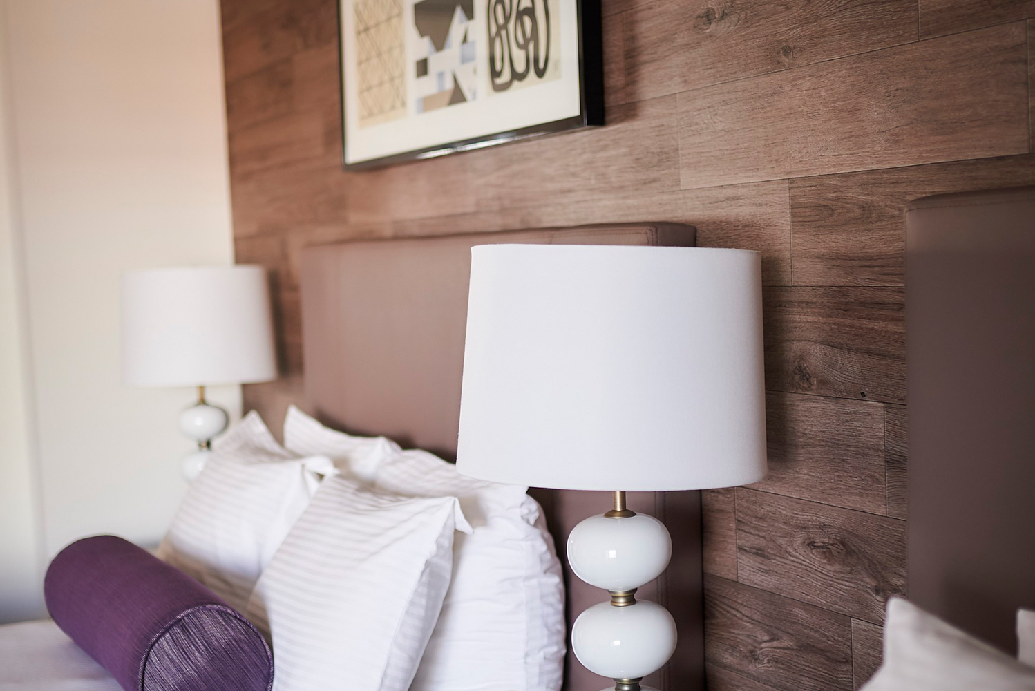 The rooms use natural textures, and reflect the rustic characteristics of the Rocky Mountains and the state of Colorado.